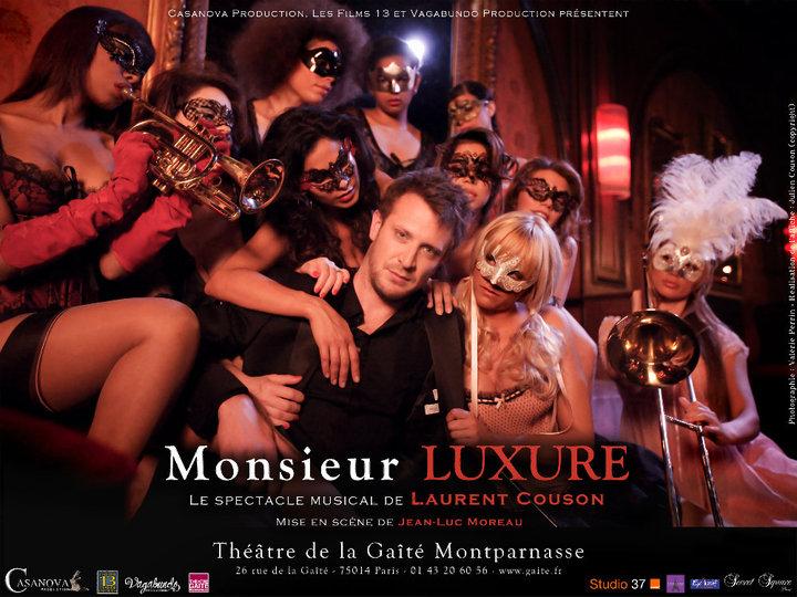 Affiche Monsieur Luxure