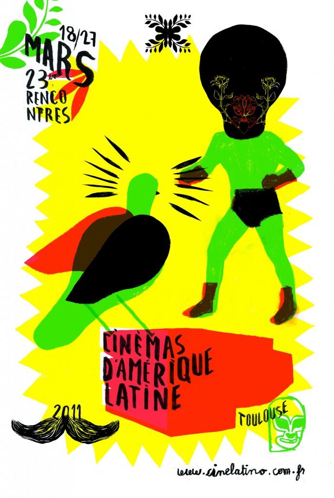 23ème Rencontres cinémas d'Amérique Latine de Toulouse du 18 au 27 mars 2011