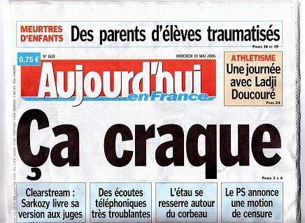 Aujourd'hui en France clame son indépendance