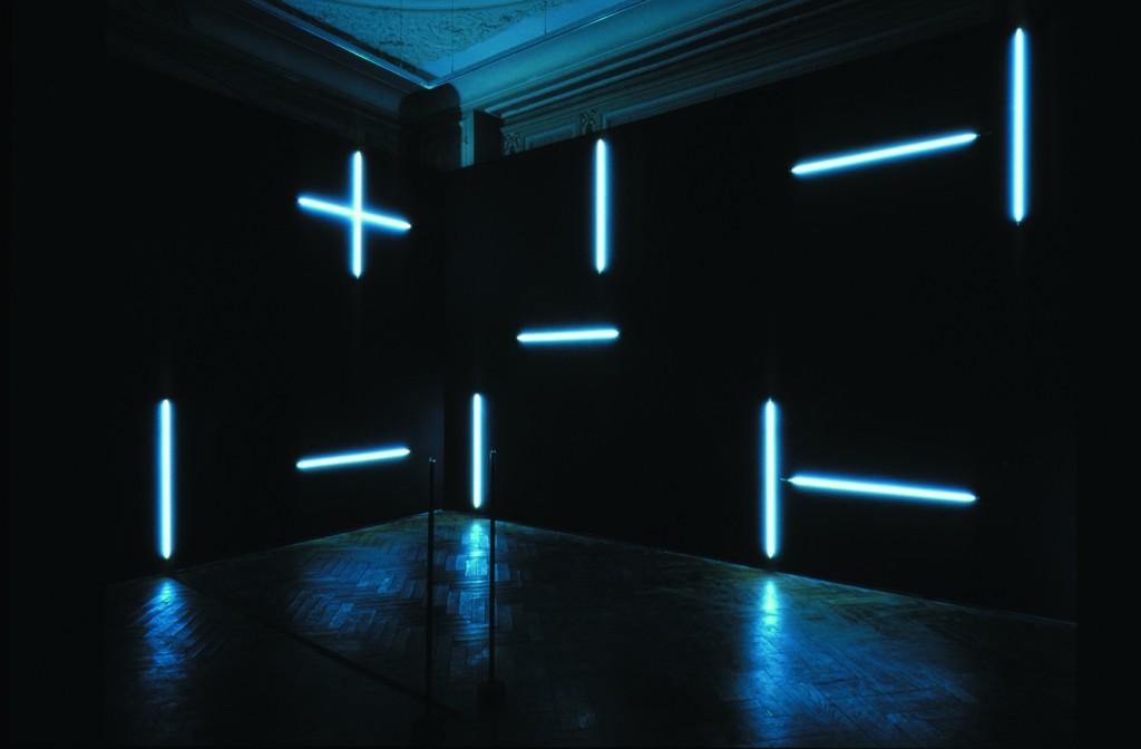 L'humour néon de François Morellet au Centre Pompidou