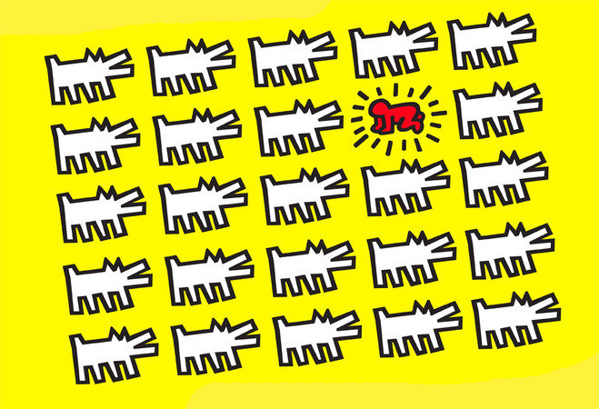 Les hiéroglyphes de Keith Haring, l'exposition dont les enfants sont les héros