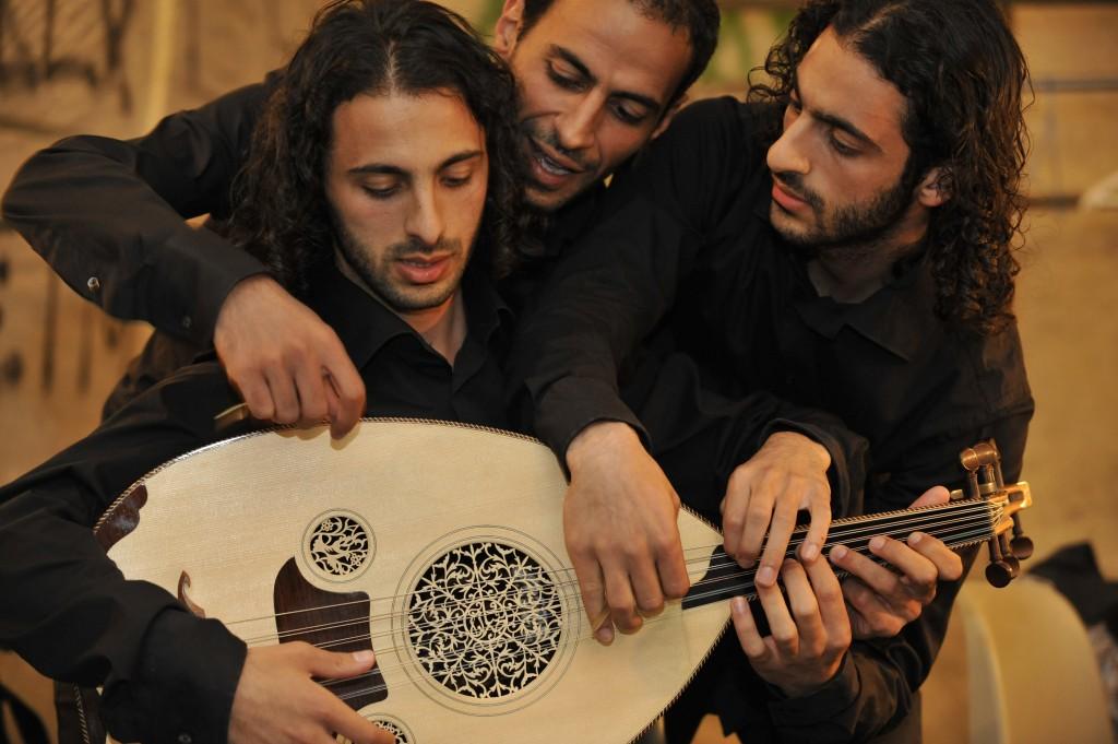 Le Trio Joubran fait étape à Paris
