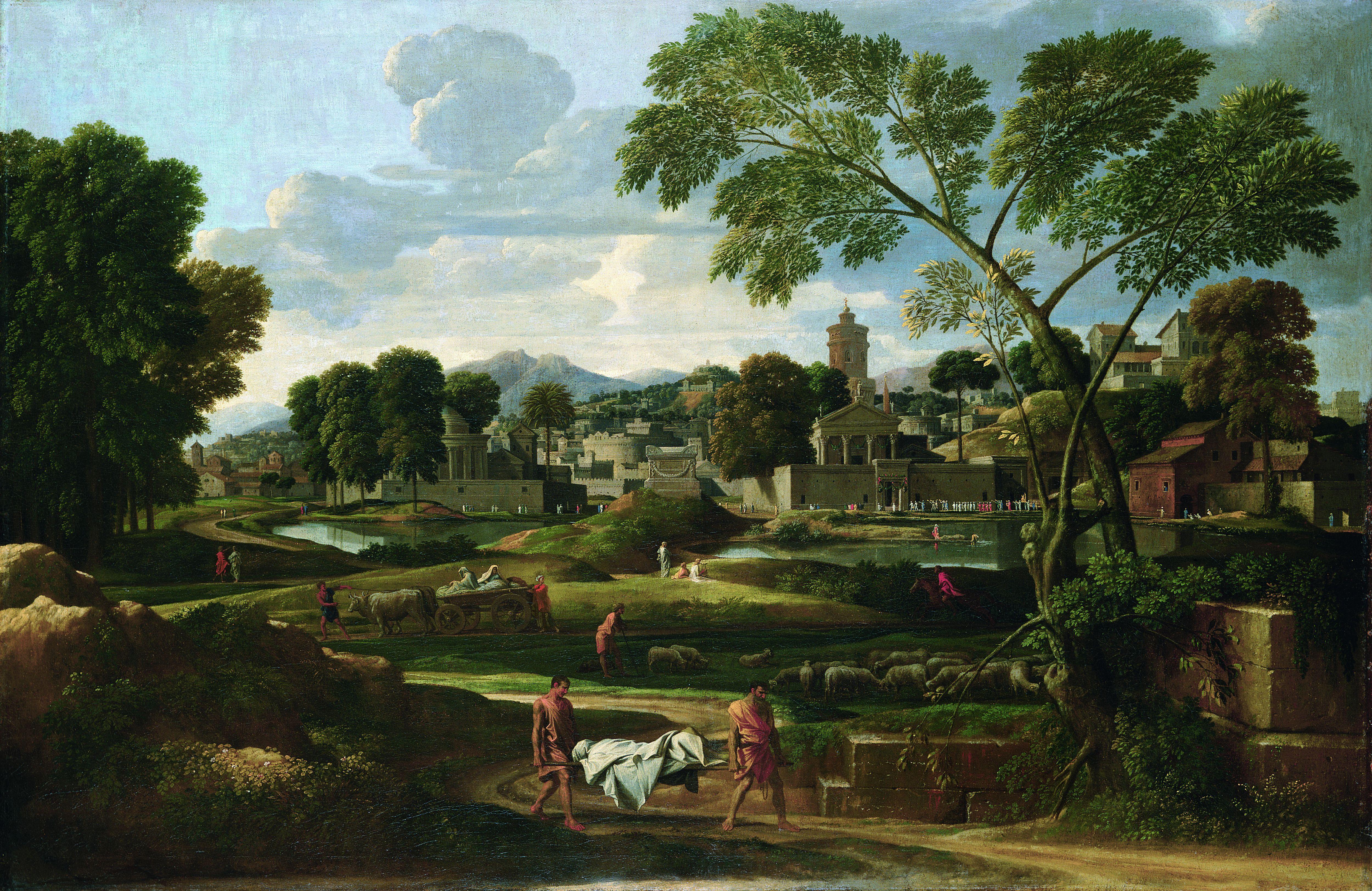 Grand Palais : L'exposition Nature et idéal brosse le portrait international de Rome au 17e siècle