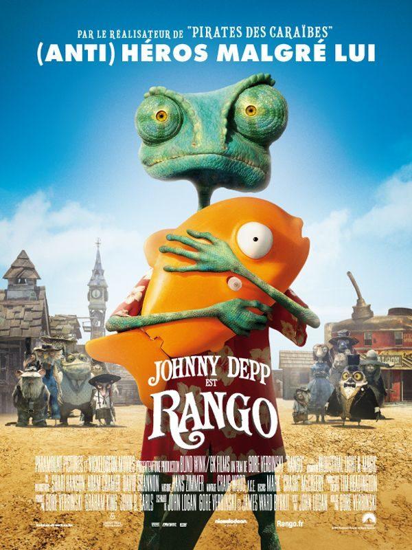 Rango : l'un des meilleurs rôles de Johnny Depp!