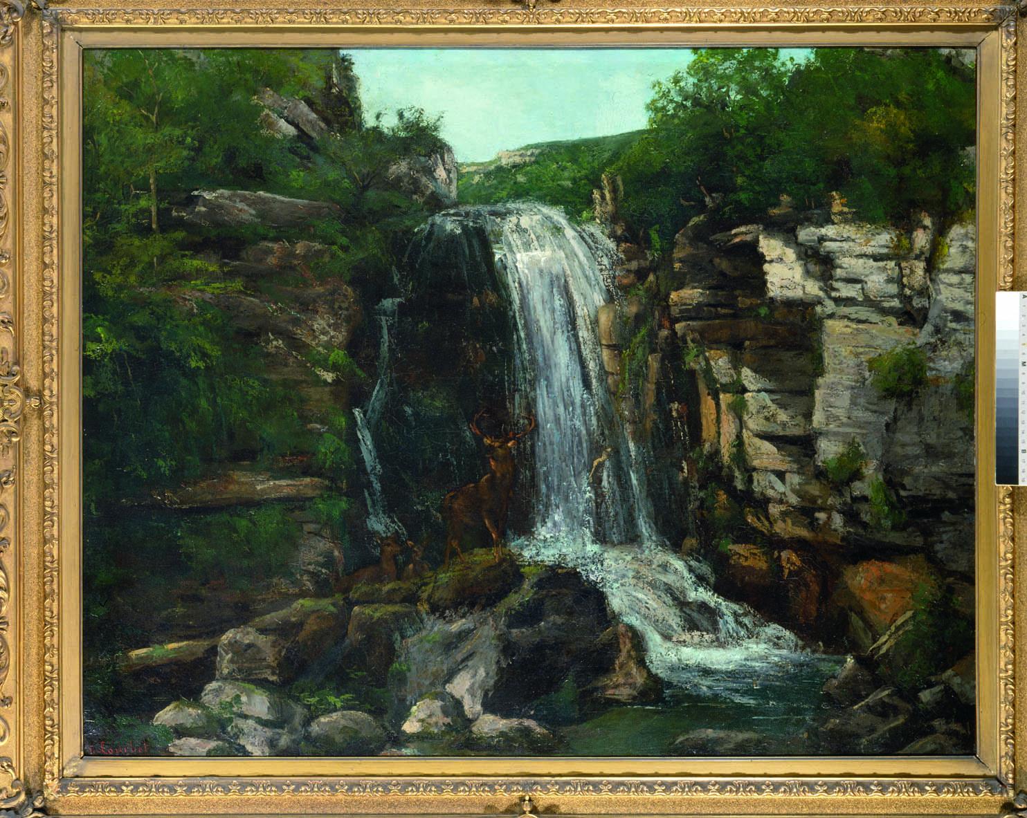 Courbet dévoile son amour de la Nature à la Fondation Mona Bismarck