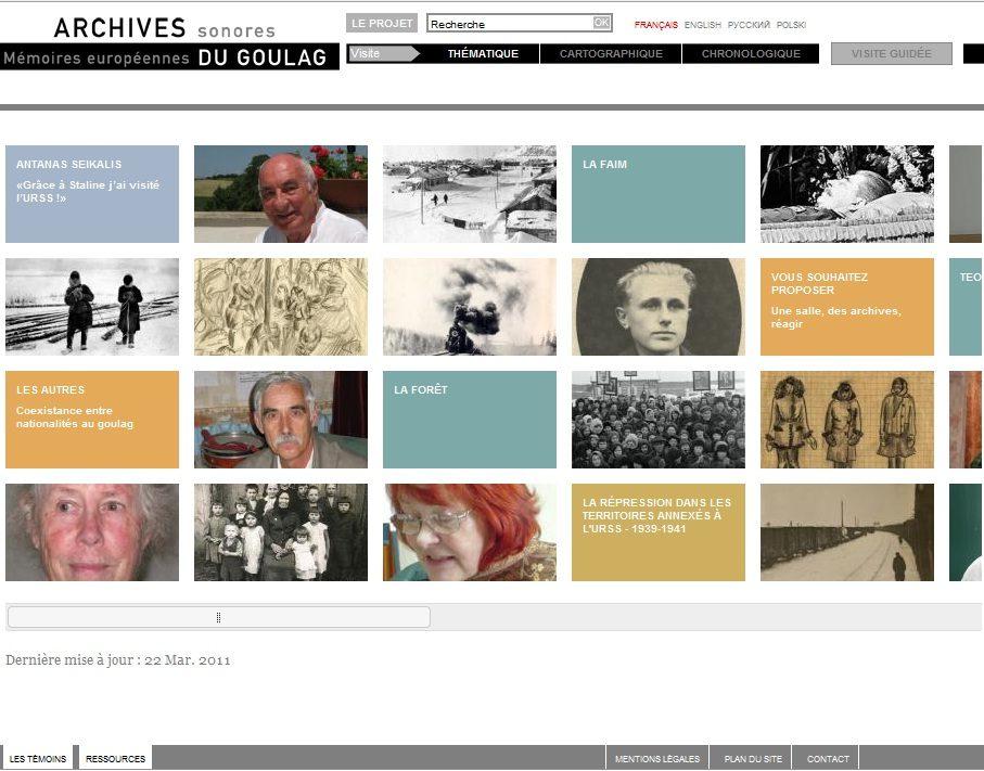 Les témoinages du Goulag rassemblés au sein d'un musée virtuel