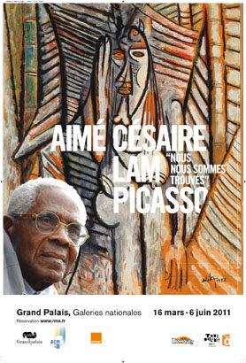 Grand Palais : Deux grandes amitiés d'Aimé Césaire : Lam et Picasso