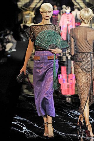 Le défilé Louis Vuitton en direct