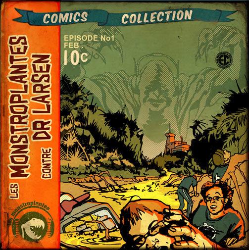 Les Monstroplantes contre le Dr Larsen, interview d'un Super-héros