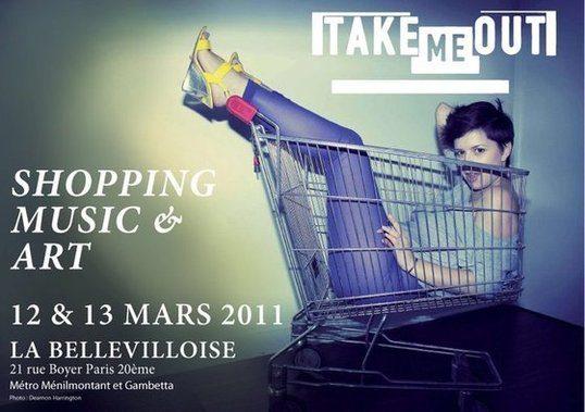 Salon TAKE ME OUT les 12 et 13 mars à la Bellevilloise
