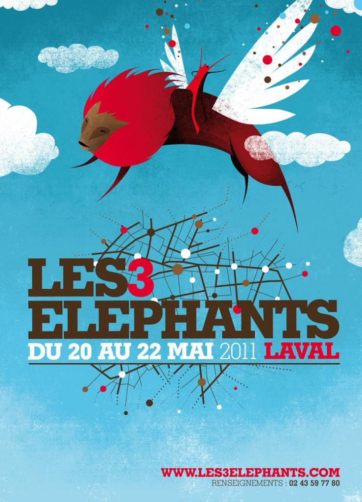 Laval: le festival des 3 éléphants