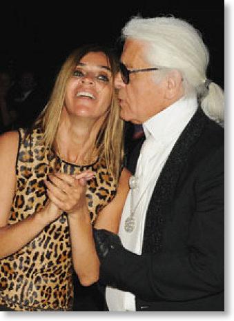 Chanel : Carine Roitfeld et Karl Lagerfeld en collaboration