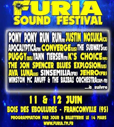 Le Furia Sound Festival revient les 11 et 12 juin prochain…