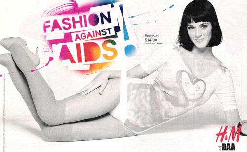 H&M affirme son engagement dans la lutte contre le sida