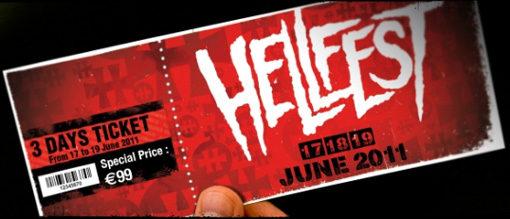 Gagnez 2 pass 3 jours pour le Hellfest