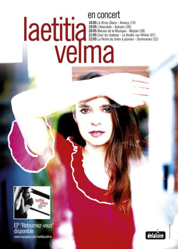 Gagnez 3×2 places pour le concert de Laetitia Velma aux Trois Baudets