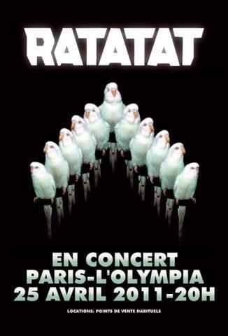 Live Report : RATATAT fait sensation à l'Olympia (25/04/2011)