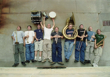 Le Youngblood Brass Band en concert au New Morning le 11 mai