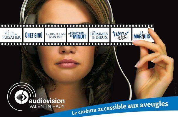 Un festival de cinéma pour les personnes aveugles et malvoyantes