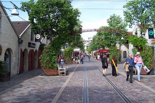 Un Bercy Village très printanier !