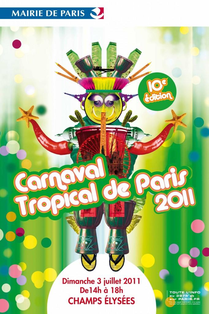 Le Carnaval Tropical de Paris fête ses 10 ans