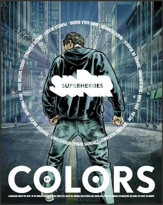 Le magazine Colors célèbre les super héros ordinaires