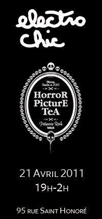 Soirée Electro Chic à l'Horror Picture Tea