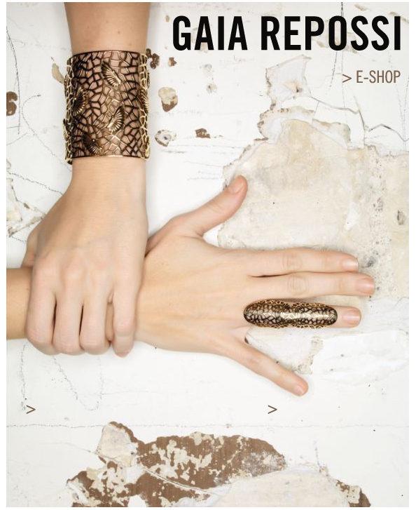 Gaia Repossi : une magnifique collection de bijoux pour Zadig et Voltaire
