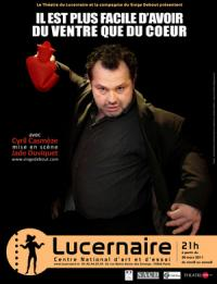 Cyril Casmèze interroge l'animal et sa panse au Lucernaire