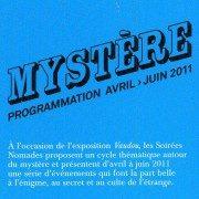 Mystérieuses Soirées Nomades à la Fondation Cartier : Ca commence ce soir