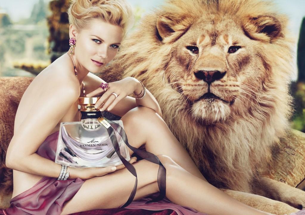 Kirsten Dunst, nouvelle égérie de la marque Bulgari