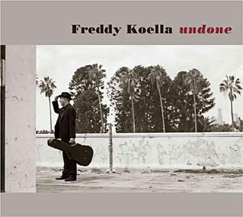 Album Undone de Freddy Koella