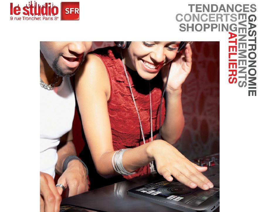 Le Studio SFR lance des cours pour les futurs Djs