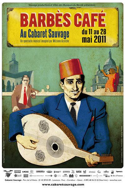 Barbès Café au Cabaret Sauvage du 11 au 28 mai