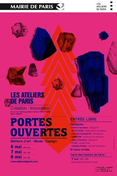 Les Ateliers de Paris ouvrent leurs portes du 6 au 8 mai