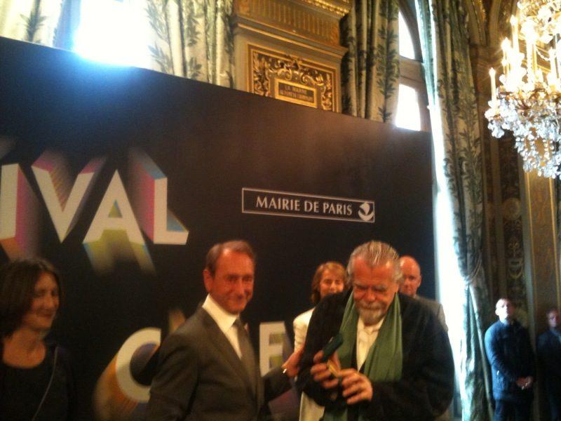 Michael Lonsdale invité d'honneur de Paris Cinéma 2011