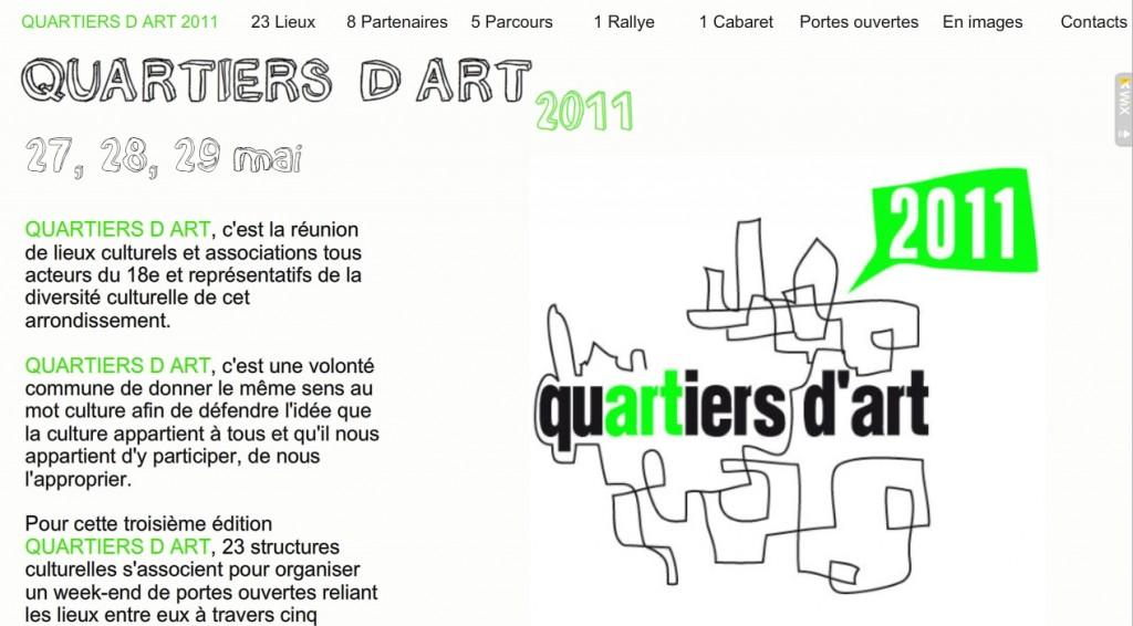 La 3e édition de Quartiers d'Art aura lieu du 27 au 29 mai dans le 18e arrondissement