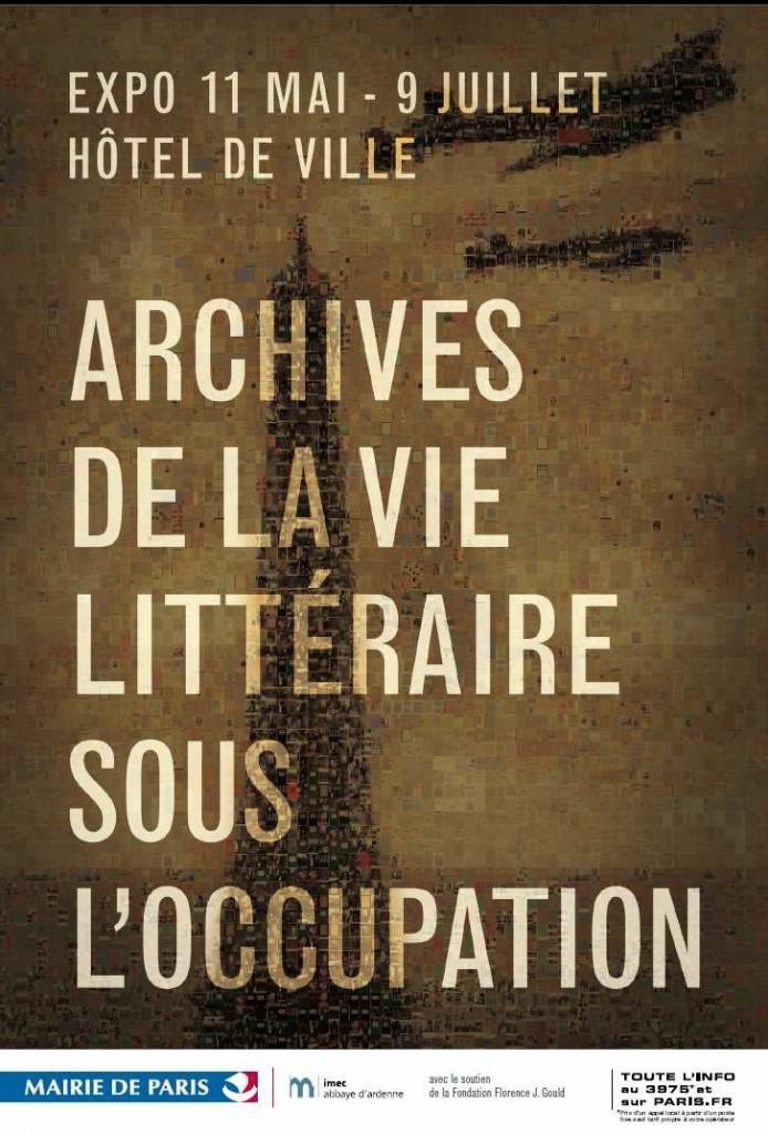 Archives de la vie littéraire sous l'Occupation