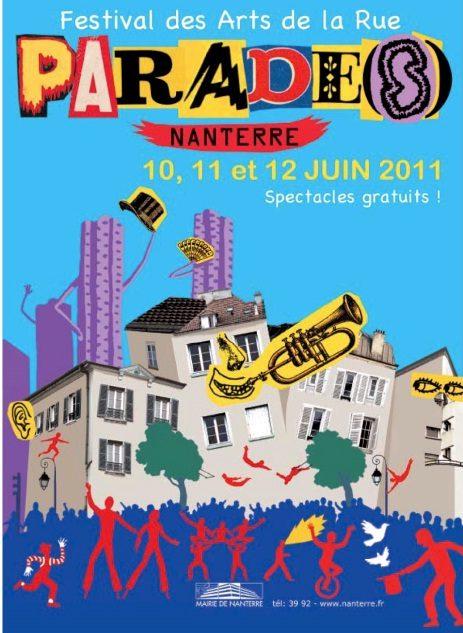Parade(s) 2011, festival des arts de la rue envahit Nanterre