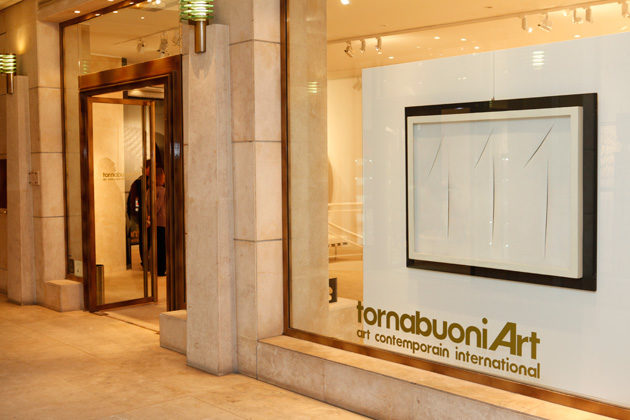 Hommage à Arnaldo Pomodoro à la Galerie Tornabuoni