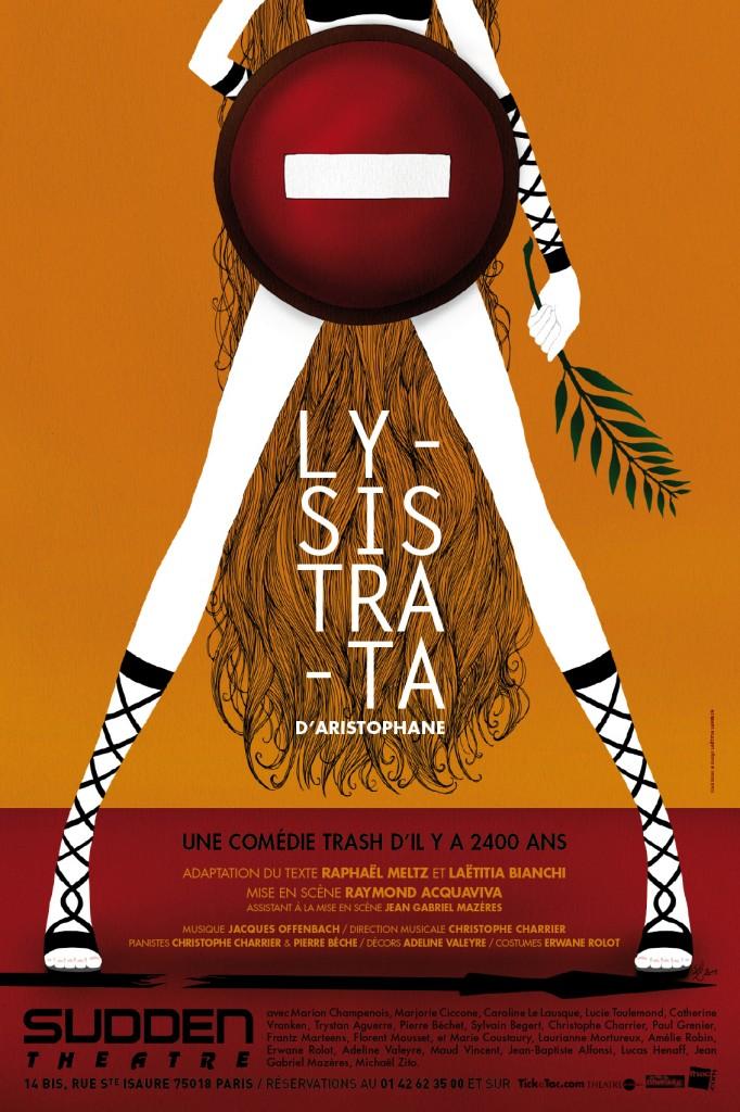 Gagnez 5×2 places pour la pièce Lysistrata dans une mise en scène de Raymond Acquaviva