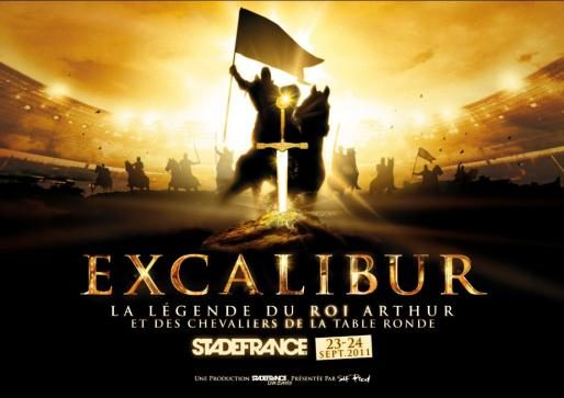 Excalibur, le gigantesque spectacle sur les chevaliers de la Table Ronde les 23 et 24 septembre au Stade de France