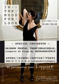 In the mood for look- fashion party special croisette ce soir au Paname !