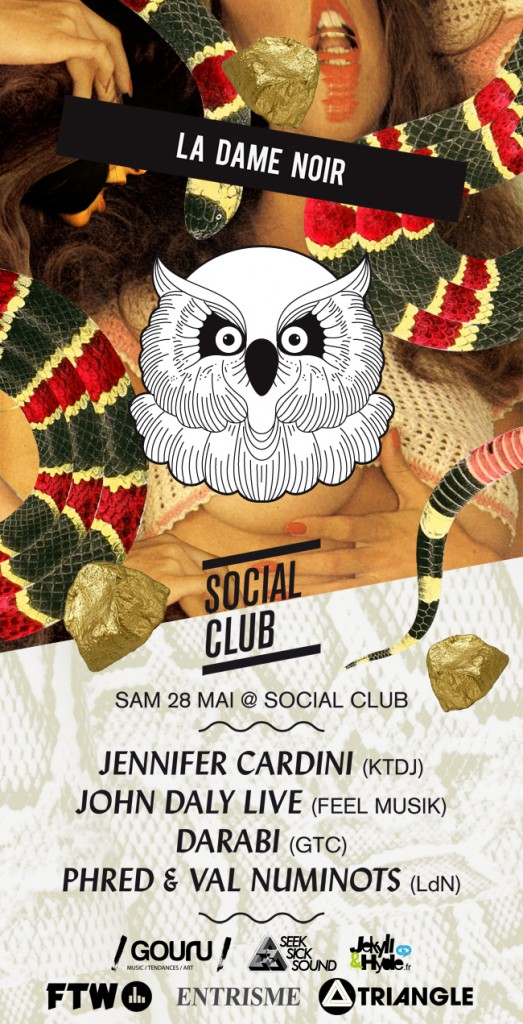 Gagnez 2×2 places pour La dame en noir au Social Club le 28 mai