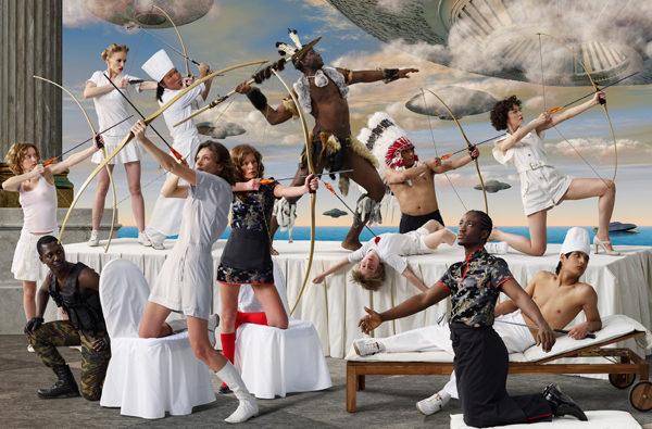 Art District, la galerie du Royal Monceau ouvre avec une exposition exceptionnelle du collectif russe AES + F