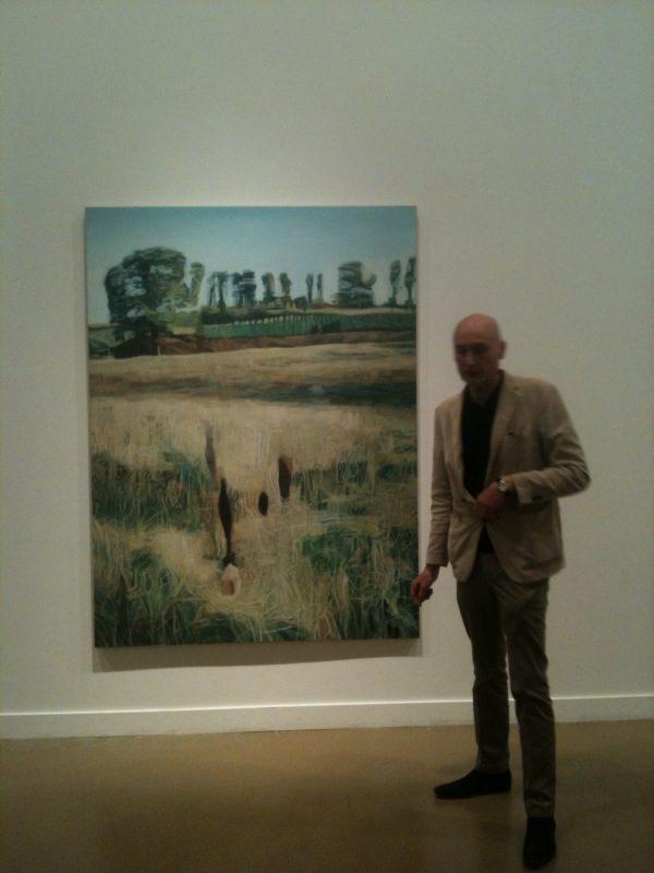 Les opacités et les transparences de Marc Desgrandchamps au Musée d'Art moderne de Paris