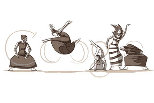 Google dedicace son logo à Martha Graham