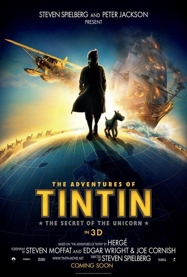 Evènement: les premières images du «Tintin» de Steven Spielberg