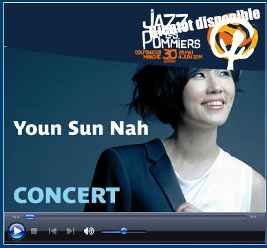 Live: Youn Sun Nah online à 21H30