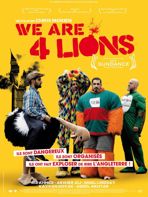 We are 4 Lions en DVD le 17 mai